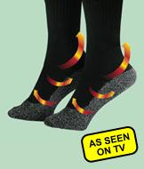 35 Degree Below Socks - 2 Pairs Small/Medium