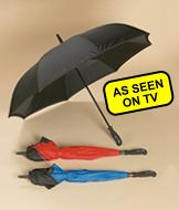 Better Brella Reversible Umbrella - Black