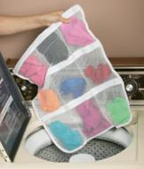 Zippered Sock Pocket Organizer