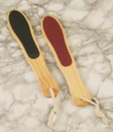 Double-Sided Wooden Foot Files - Set of 2