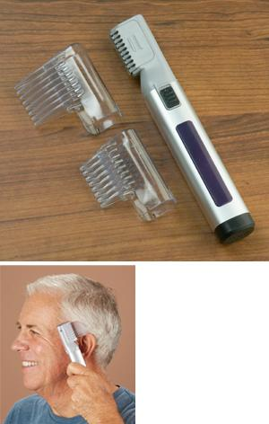 Battery-Operated Hair Trimmer