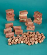 Aromatic Cedar Blocks - Set of 24