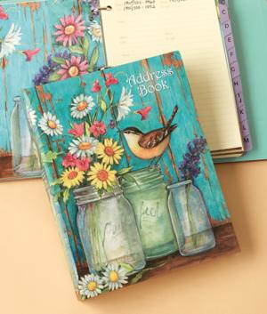 Flower Jars Address Book