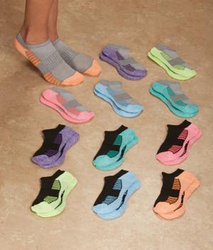 Low-Cut Sports Socks - 12 Pairs