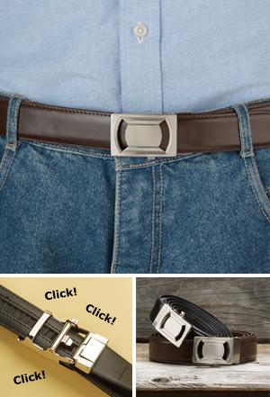 Click N' Go Fashion Belt - Brown