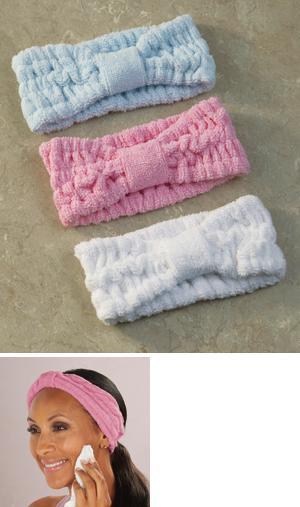 Terry Headbands - Set of 3