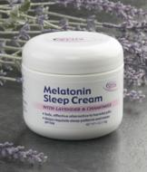 Melatonin Sleep Cream - 4-oz.