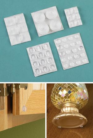 Assorted Size Adhesive Bumpers - 48-Pcs.