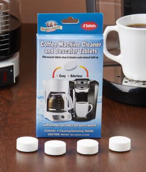 Coffee Machine Cleaner and Descaler - 4 Tablets