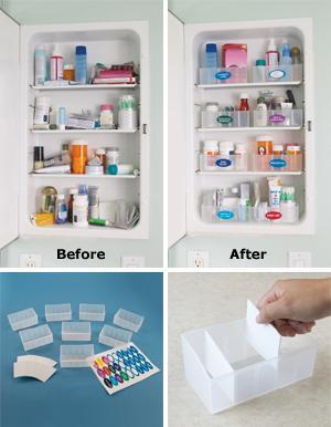 Medicine Cabinet Organizer - Storage & Organization ...