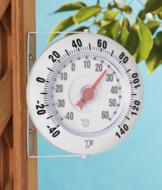 Wall-Mounted Outdoor Thermometer