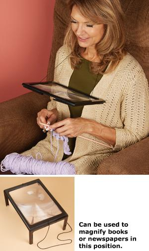 Hands-Free 3X Magnifier