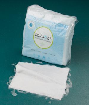 Rinse-Free Bath Sponges - 25-Pack