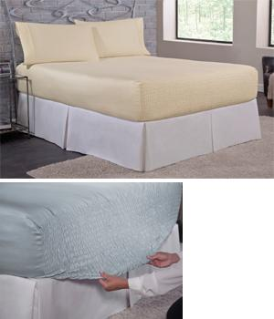 Bed Tite Sheet Set - King Ivory