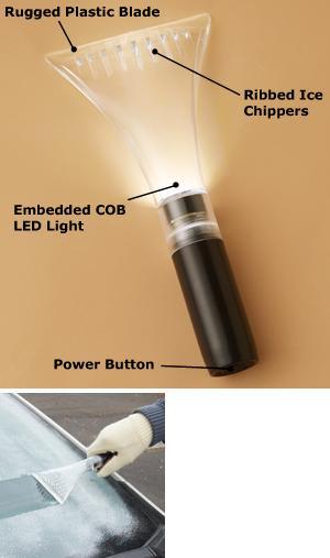 COB Lighted Ice Scraper