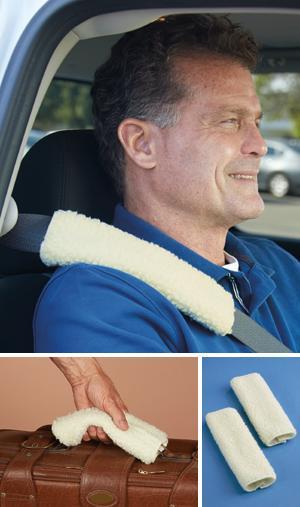 Seat Belt Shoulder Pads - Set of 2