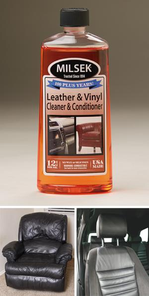 Leather & Vinyl Cleaner and Conditioner