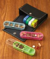 Weekly Pillbox with Case
