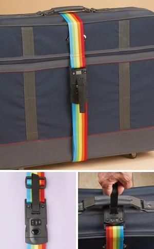 3-in-1 Rainbow Luggage Strap
