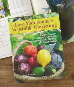 Low-Maintenance Vegetable Garden Book