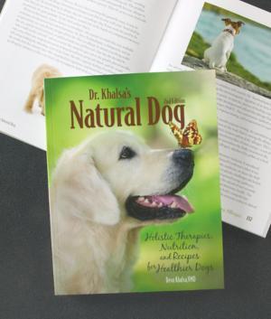 Dr. Khalsa's Natural Dog Book