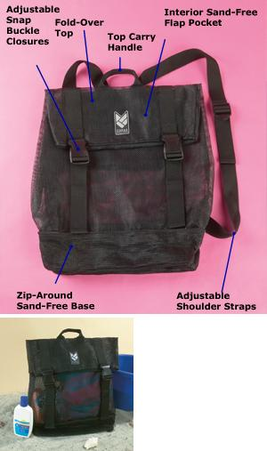 Sand-Free Backpack