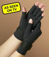 Copper Fit Hand Relief Gloves - Small/Medium
