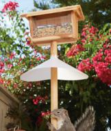 Bird Feeder Squirrel Baffle