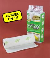 Mighty Bamboo Towels - 2 Roll Pack