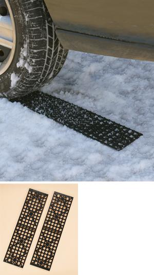 Tire Snow Traction Mats - Set of 2