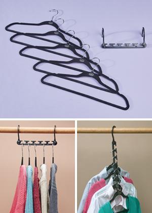 Wonder Hanger Max with 5 Hangers