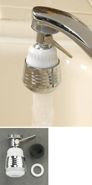 Swivel Tap Nozzle with Adapter