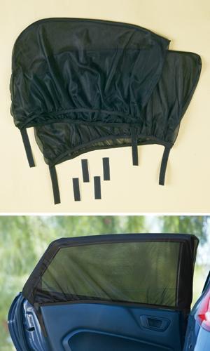 Rear Window Sunshades - Set of 2