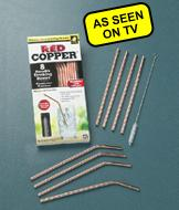 Red Copper Reusable Straws - 8-Pack