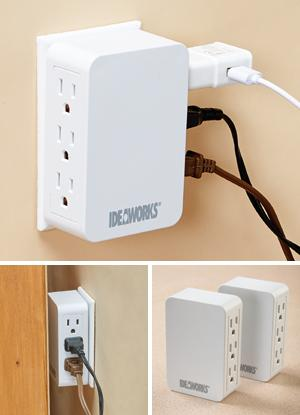 Multiplug Outlets - Set of 2