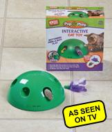 Pop n' Play Interactive Cat Toy