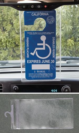 Handicap Card Holder