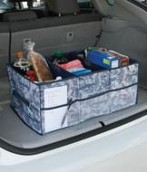 3-Compartment Grocery Trunk Tote