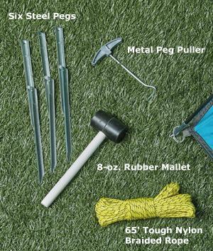 Tent Accessory Kit - 9-Pcs.
