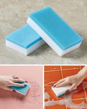 Magic Erasing Sponges - 2-Pack
