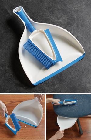 Multipurpose Brush and Dustpan Set