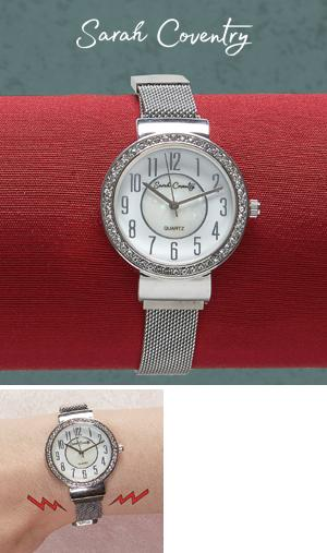 Sarah Coventry Watch with Magnetic Band
