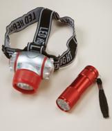 Flashlight and Headlamp Set