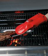 Silicone BBQ Mitt with LED Lights