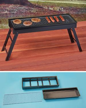 Portable Outdoor Barbecue Grill