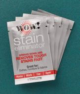 WOW! Stain Eliminator Towelettes - Five-Pack