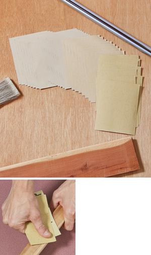 Sandpaper Set - 36-Pcs.