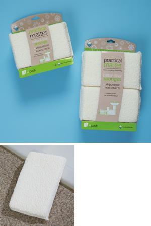 Cotton Sponge Set - 2-Pack