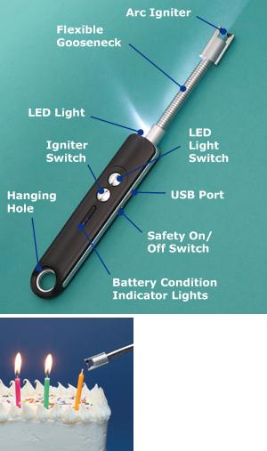 USB Electronic Arc Lighter