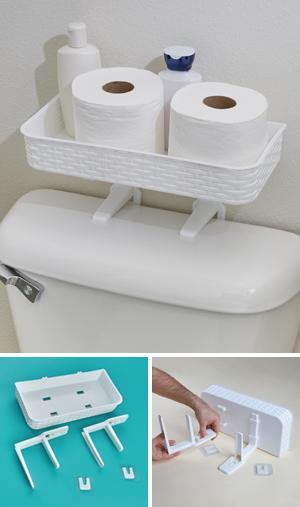 Over-the-Toilet Organizer
